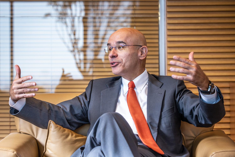 Sergio Rial, presidente do Santander