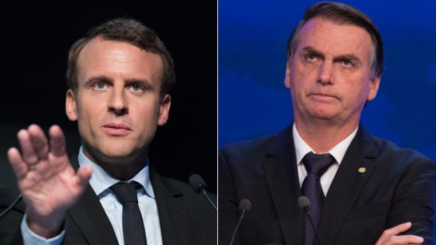 Macron Alfineta Brasil Sobre Acordo Climatico E Bolsonaro Responde Seu Dinheiro