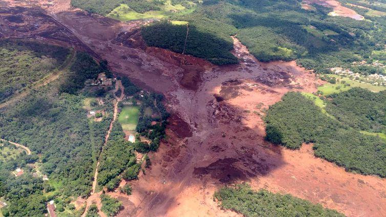 Desabamento de barragem da Vale em Brumadinho (MG)