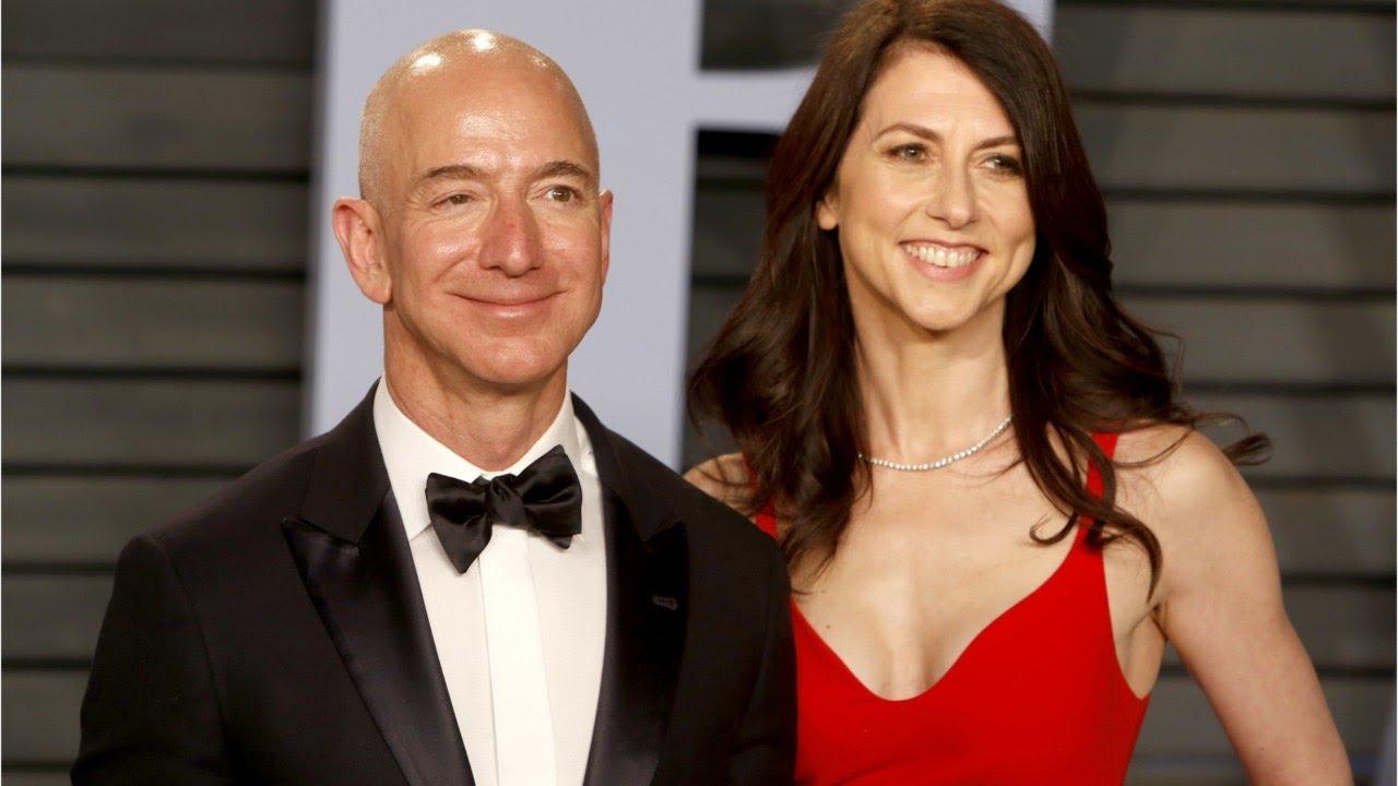 Jeff Bezos e Mackenzie Bezos