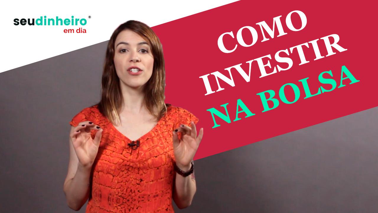 Capa do vídeo sobre como investir na bolsa