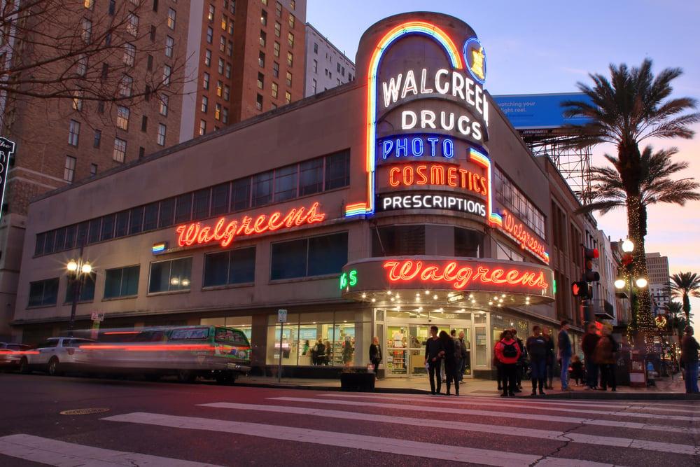 Walgreens é uma das maiores redes de farmácias dos EUA