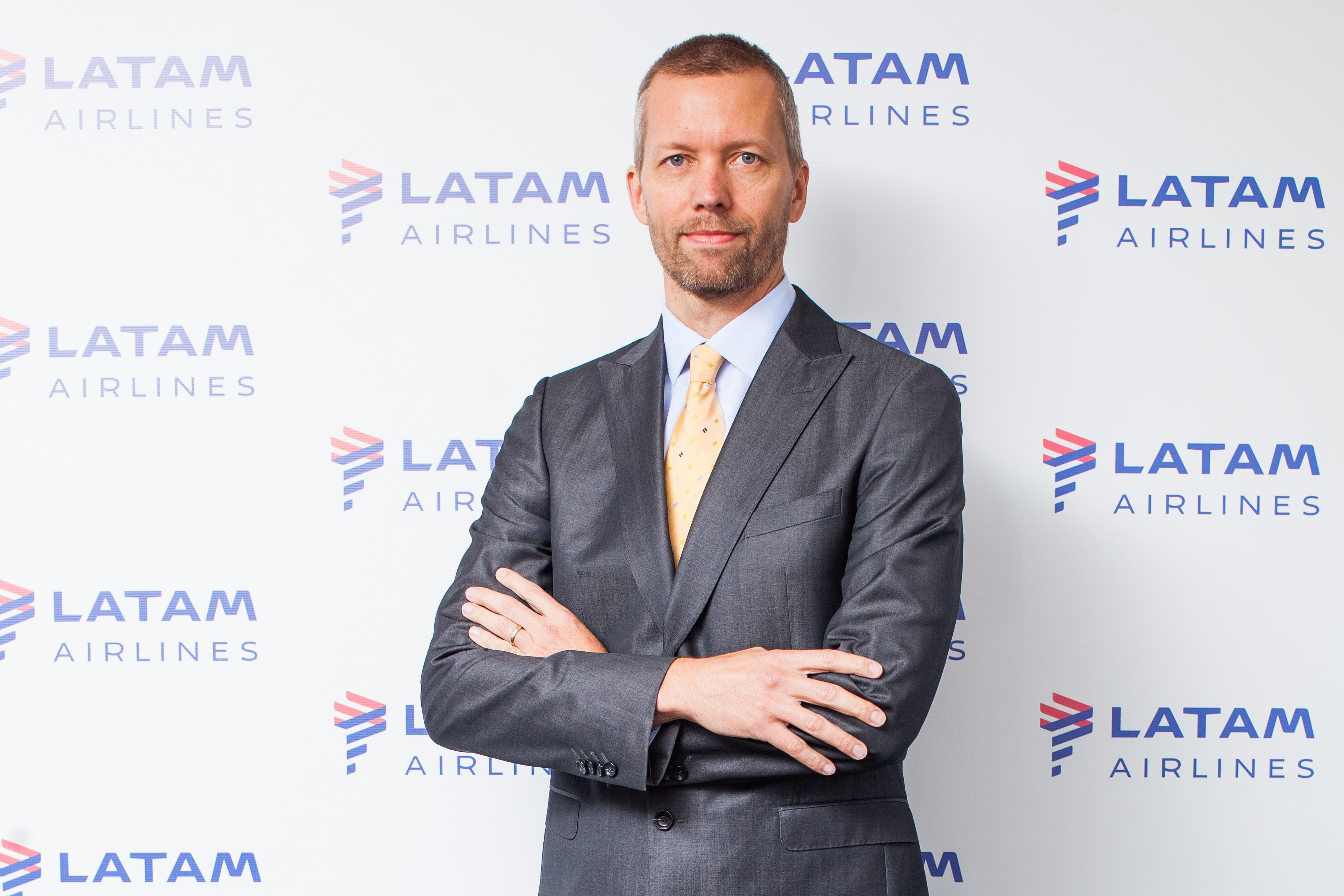 Jerome Cadier, CEO da Latam no Brasil