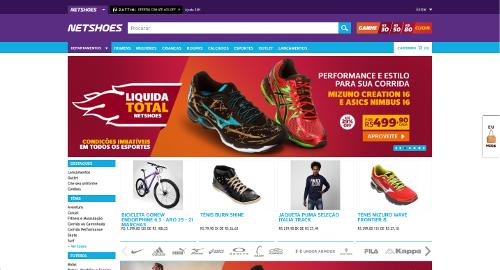 78a4523e0 Magazine Luiza calça o tênis e leva Netshoes por US  62 milhões ...