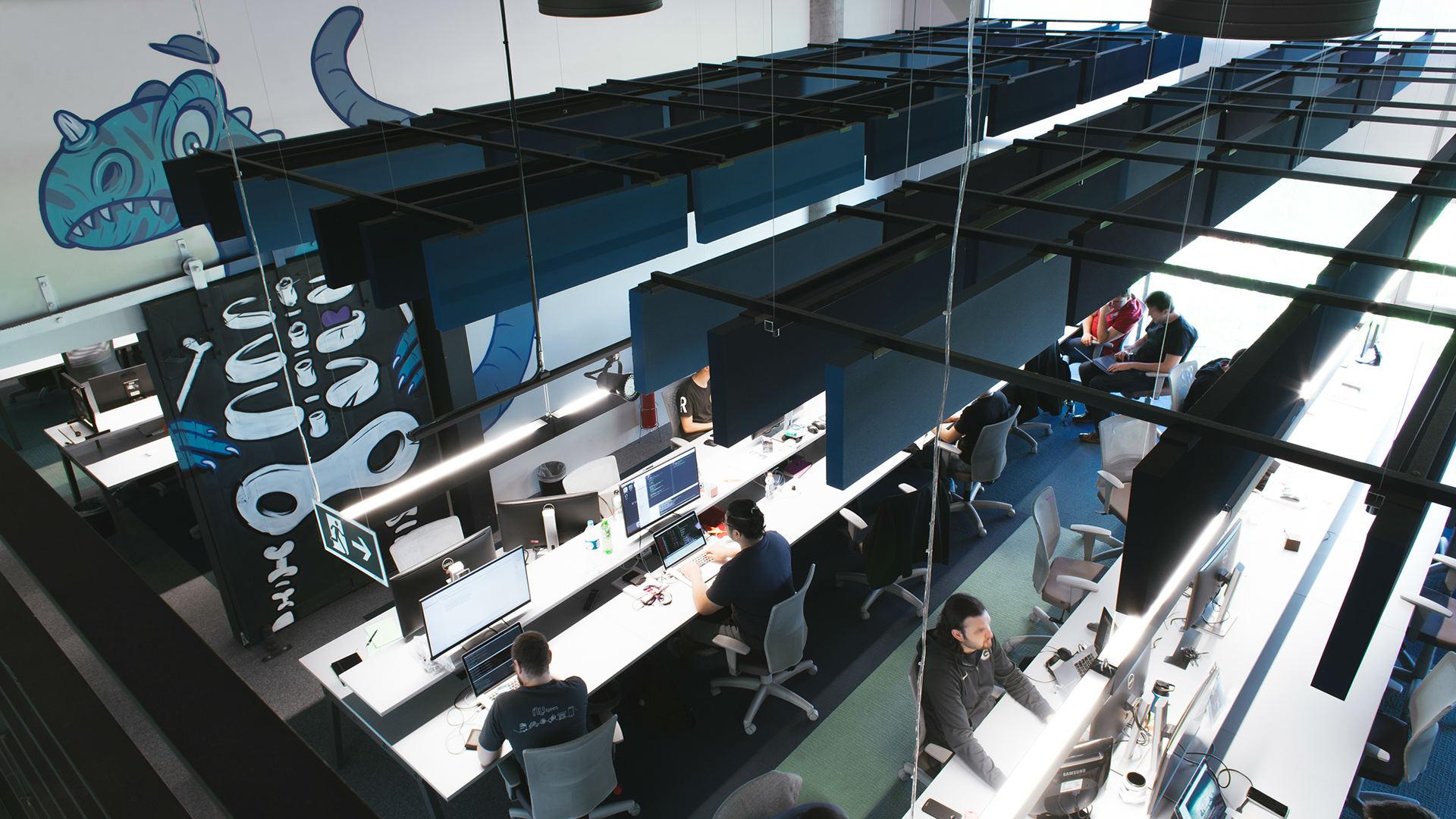 Escritório do Nubank em Pinheiros, São Paulo