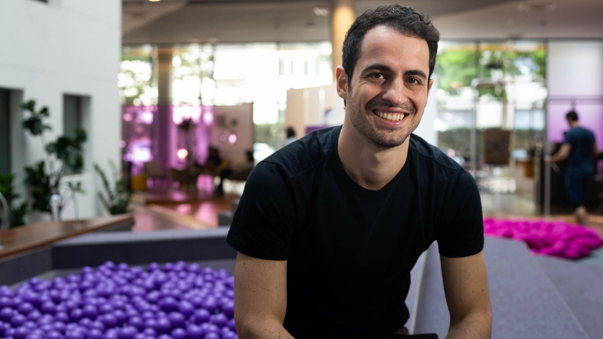 Vitor Olivier, sócio do Nubank e responsável pela NuConta