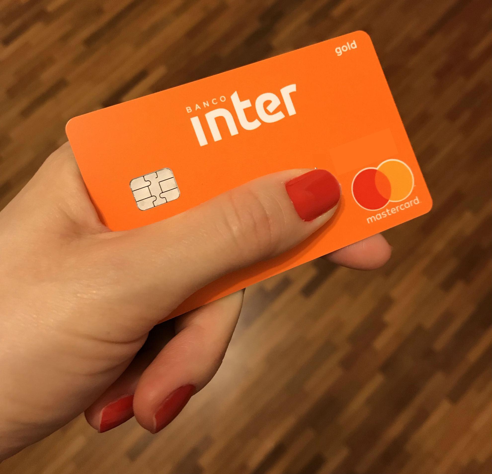 Cartão do Banco Inter