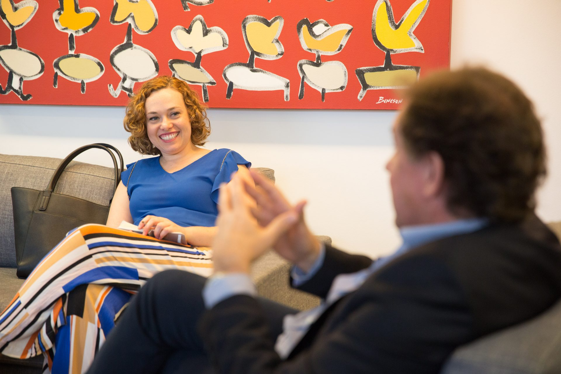 Retrato de João Appolinário, fundador da Polishop, durante entrevista à jornalista Marina Gazzoni em seu escritório na zona sul de São Paulo.