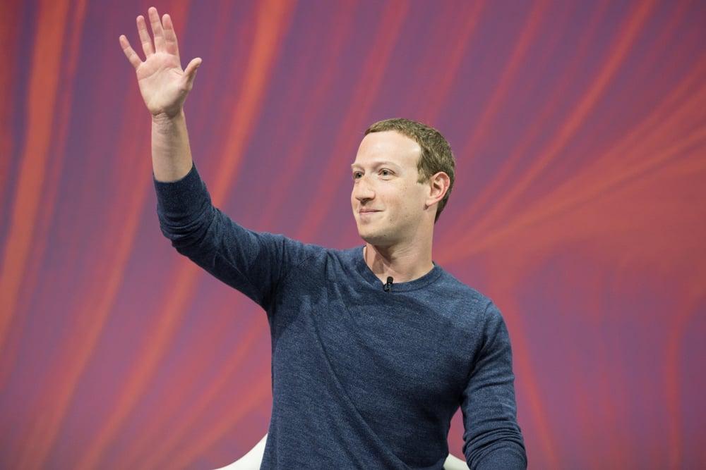 Mark Zuckerberg, fundador de CEO do Facebook