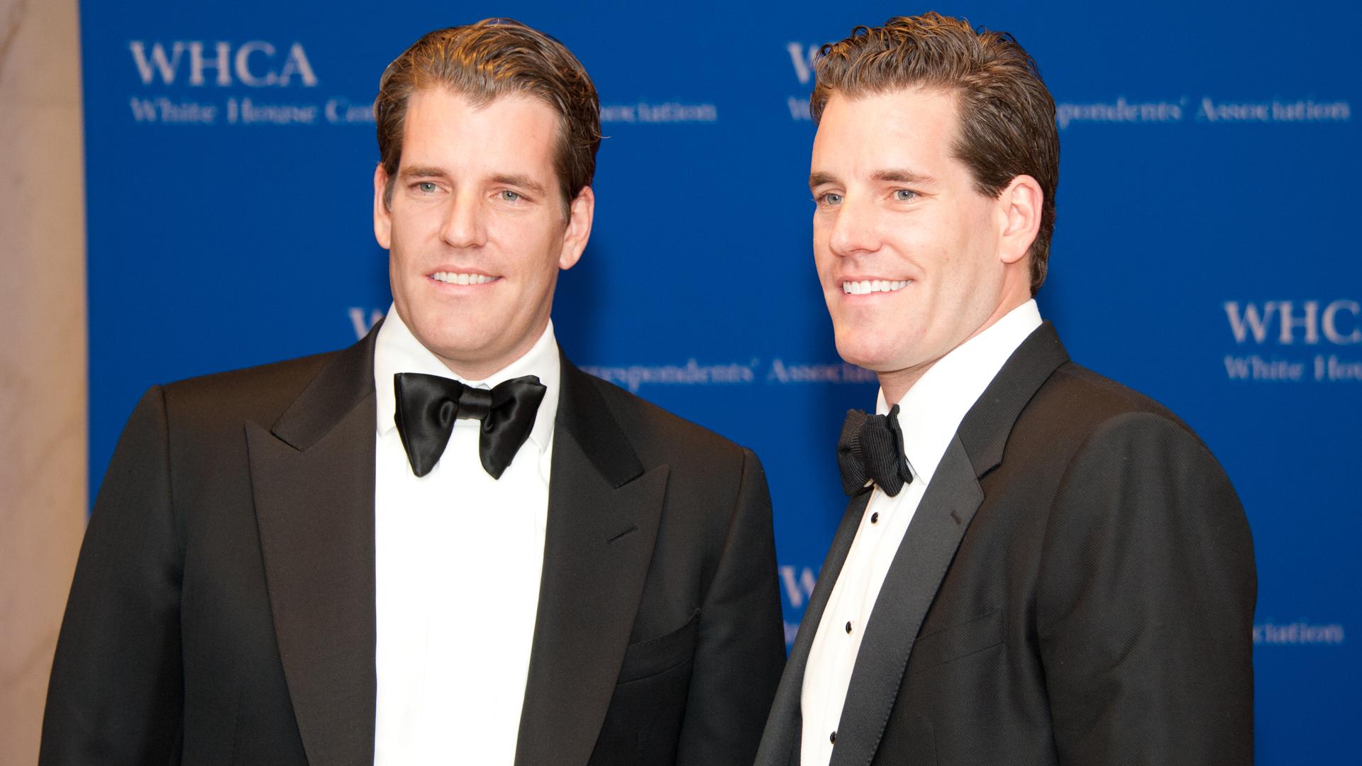 Os gêmeos Cameron e Tyler Winklevoss