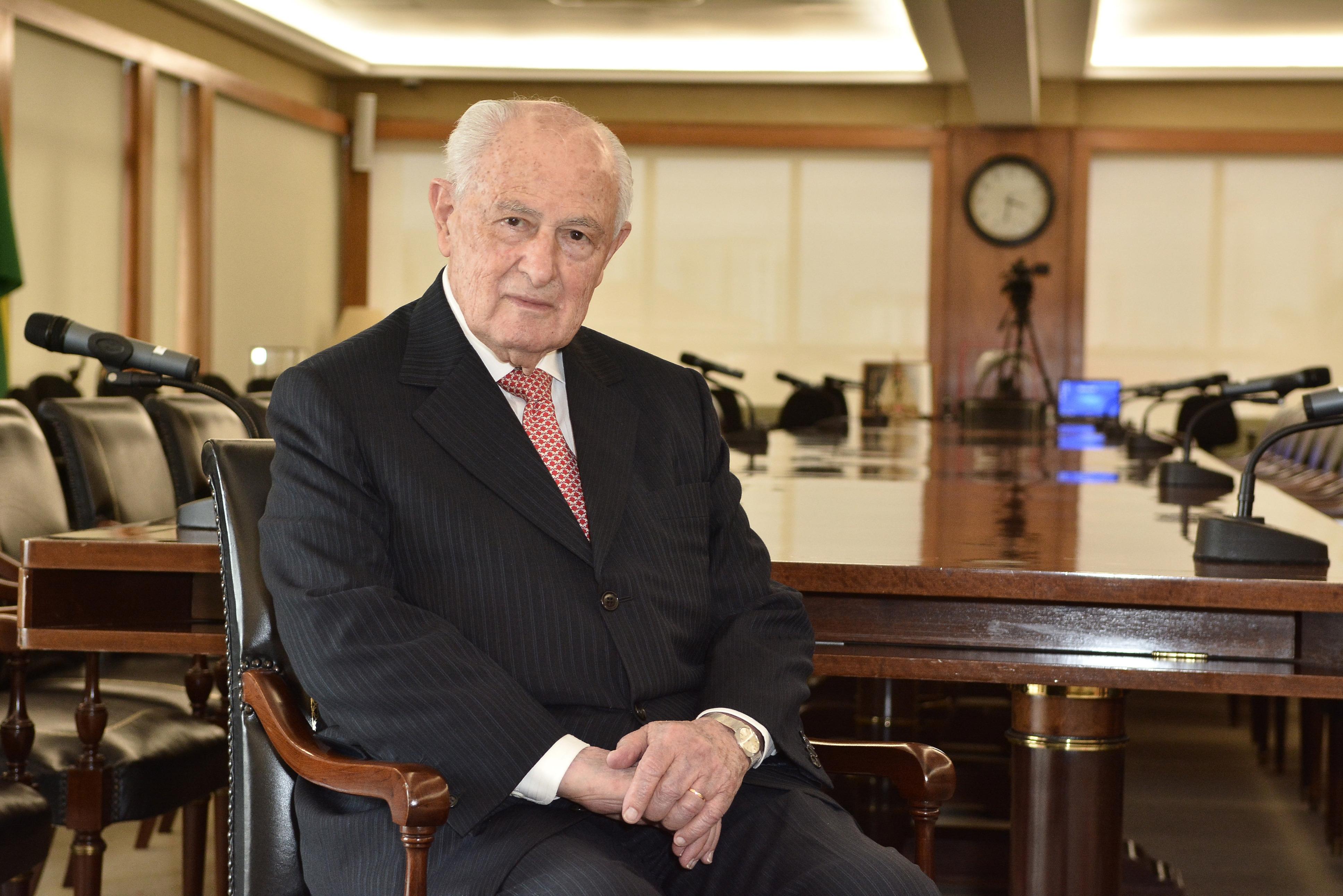 Lázaro de Mello Brandão, ex-presidente do Conselho do Bradesco.