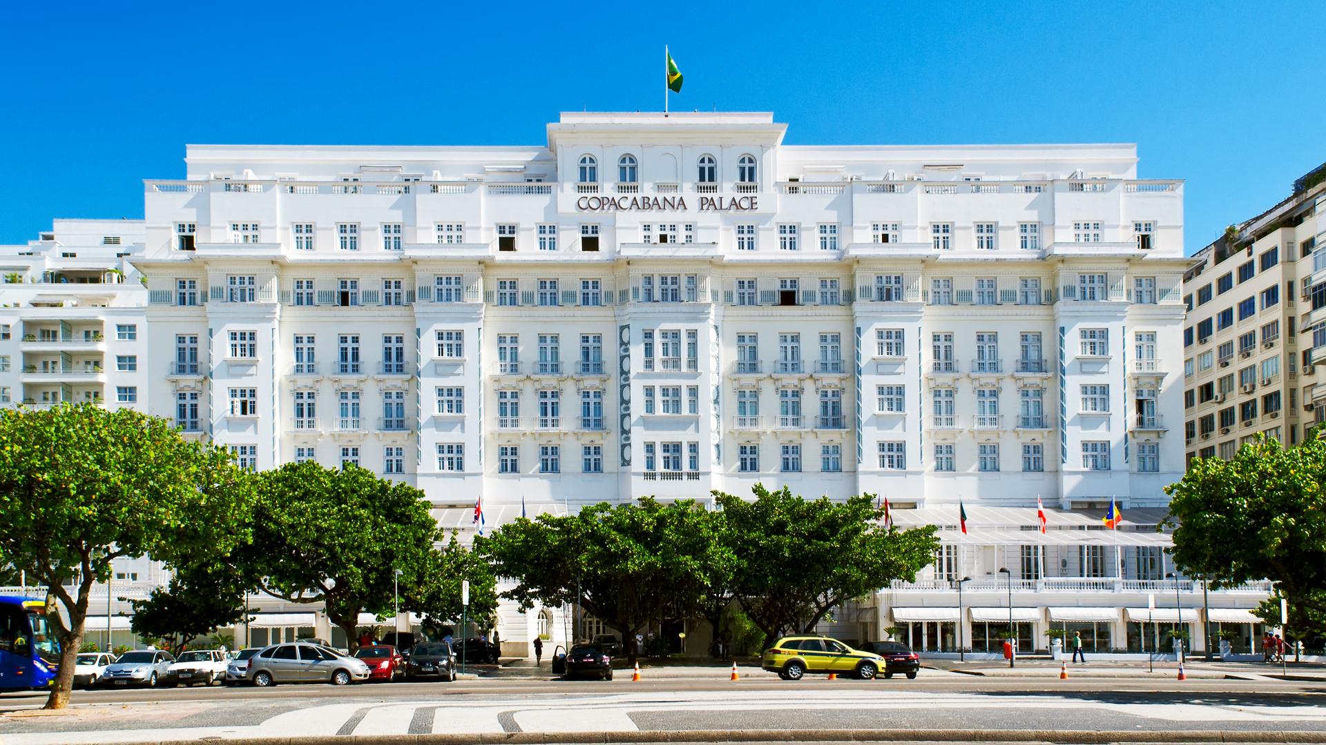 Hotel Copacabana Palace, no Rio de Janeiro