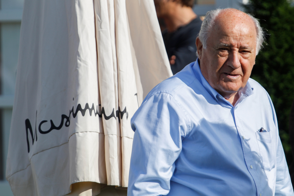 Amancio Ortega, dono da Zara