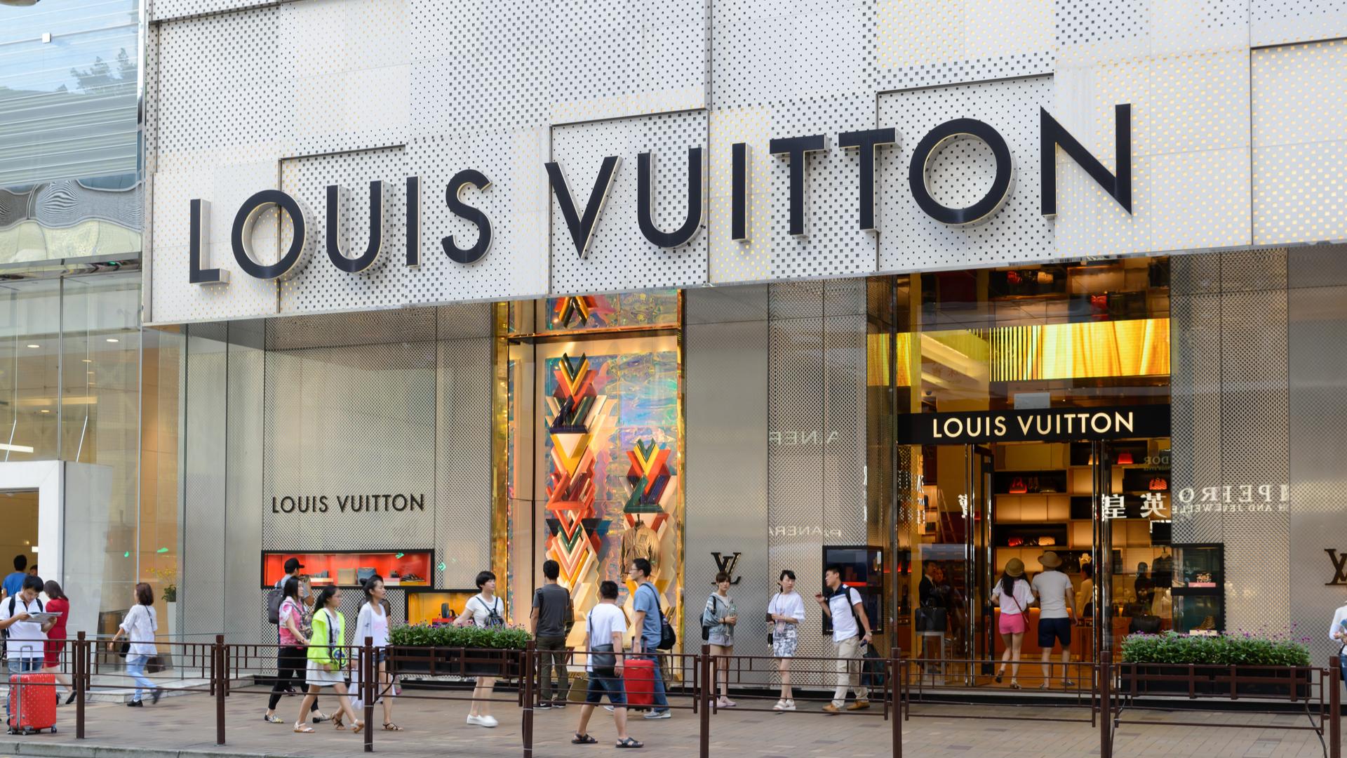 Loja da Louis Vuitton em Hong Kong; mercado asiático é o maior consumidor da marca