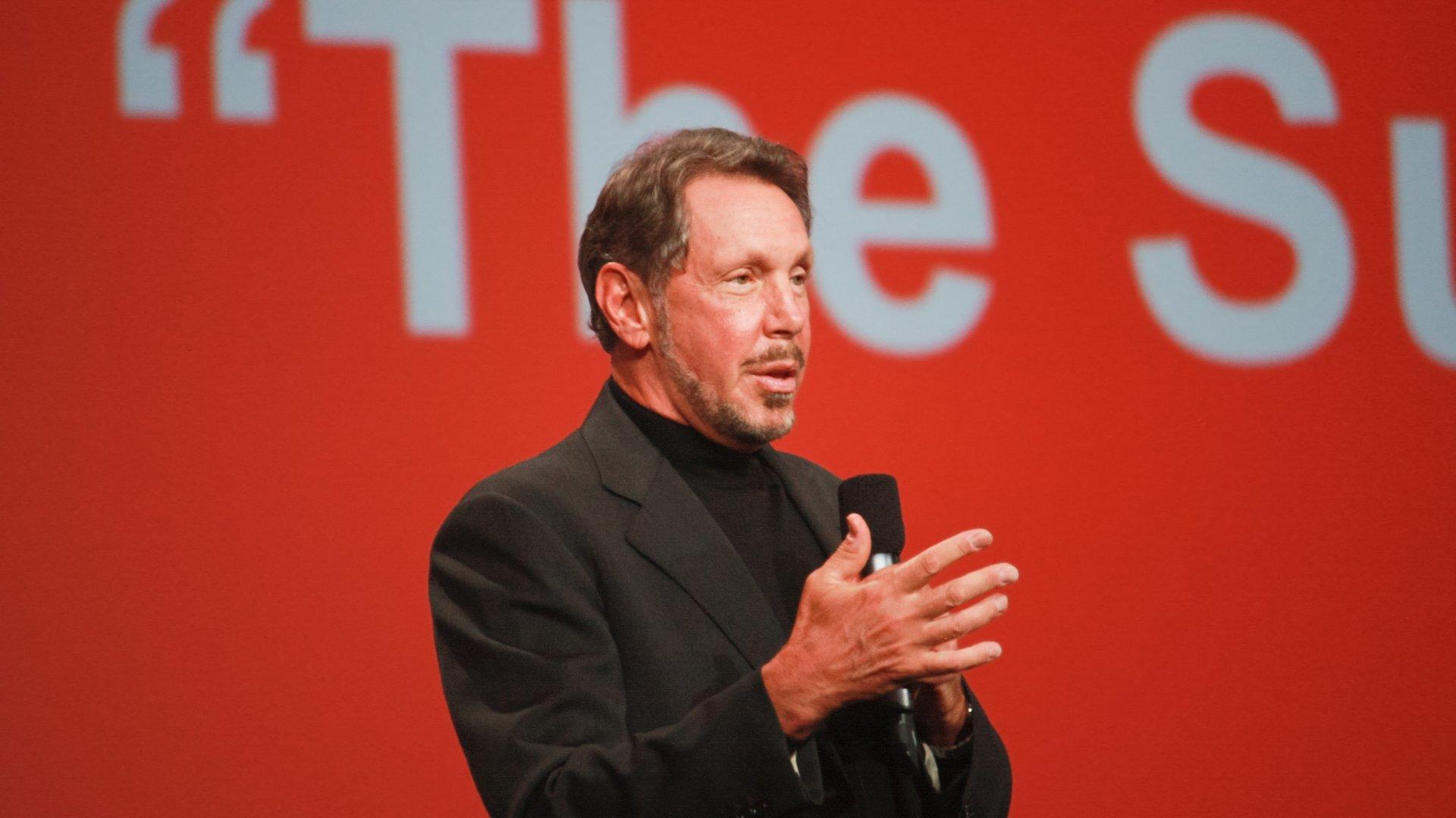 Larry Ellison, fundador da Oracle