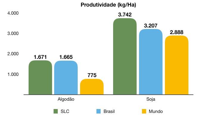 Produtividade da SLC