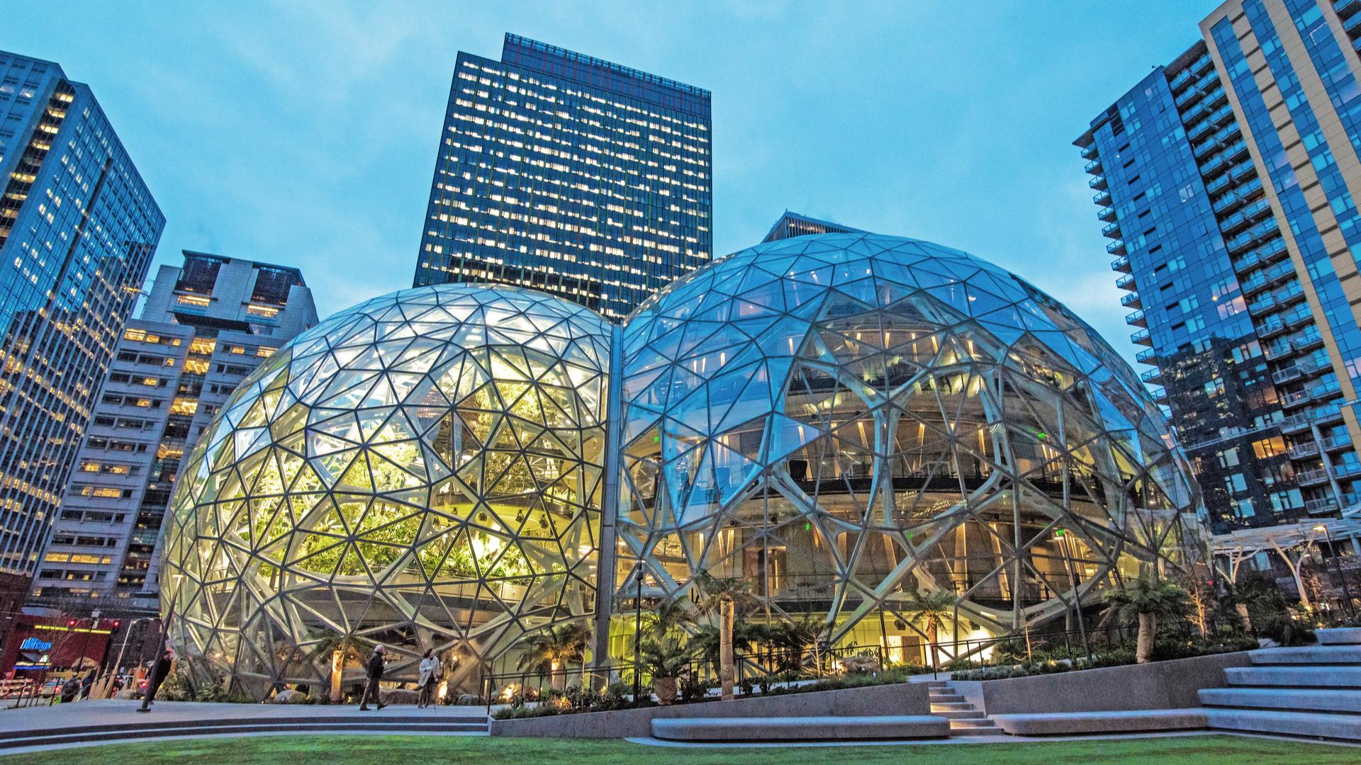 Sede da Amazon em Seattle