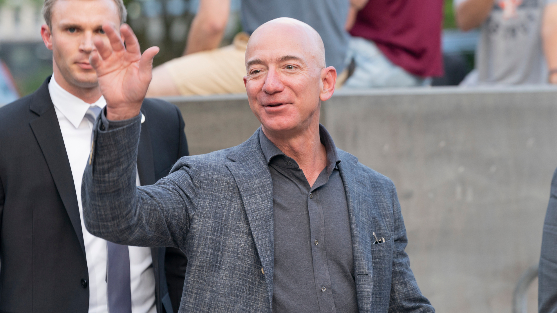 Jeff Bezos, fundador da Amazon e o homem mais rco do mundo