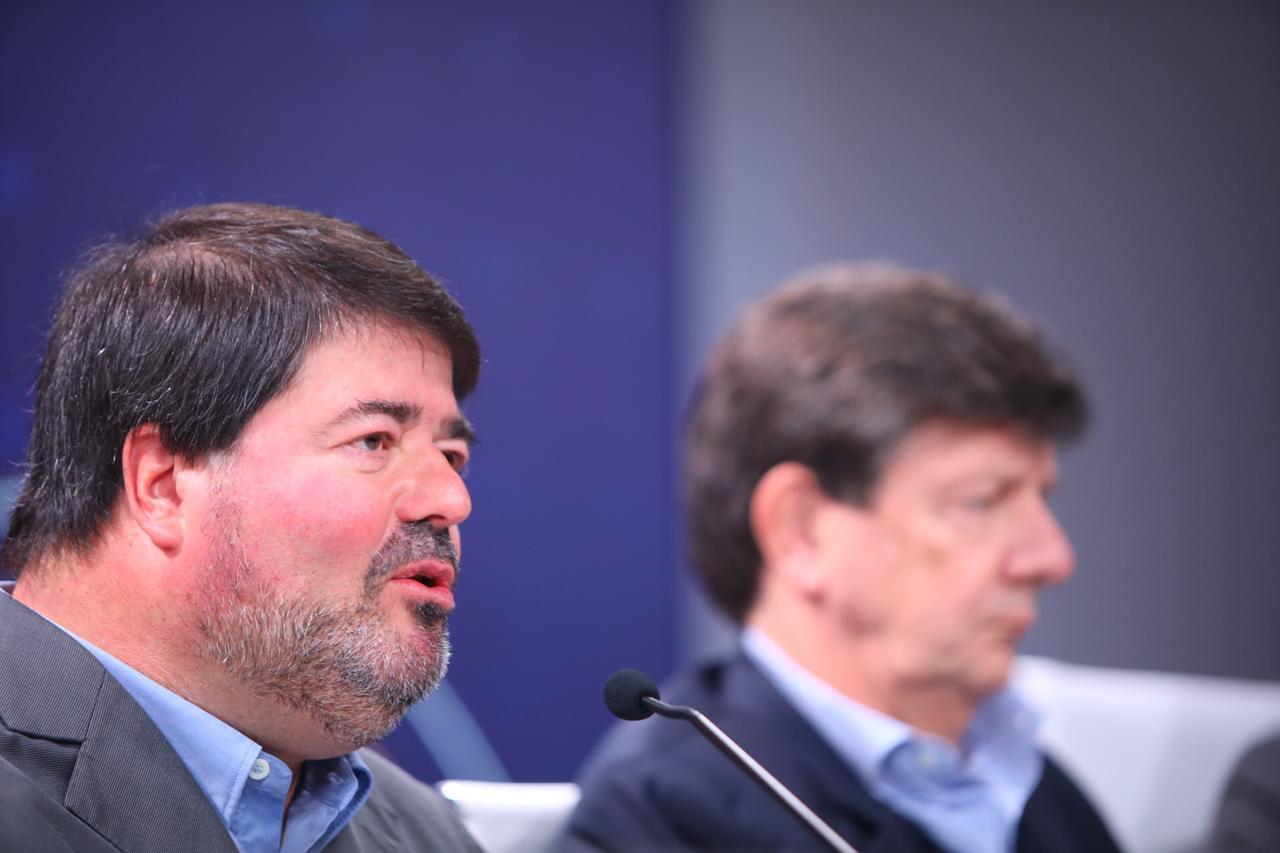 Pedro Moreira Salles e Roberto Setubal, copresidentes do conselho de administração do Itaú Unibanco
