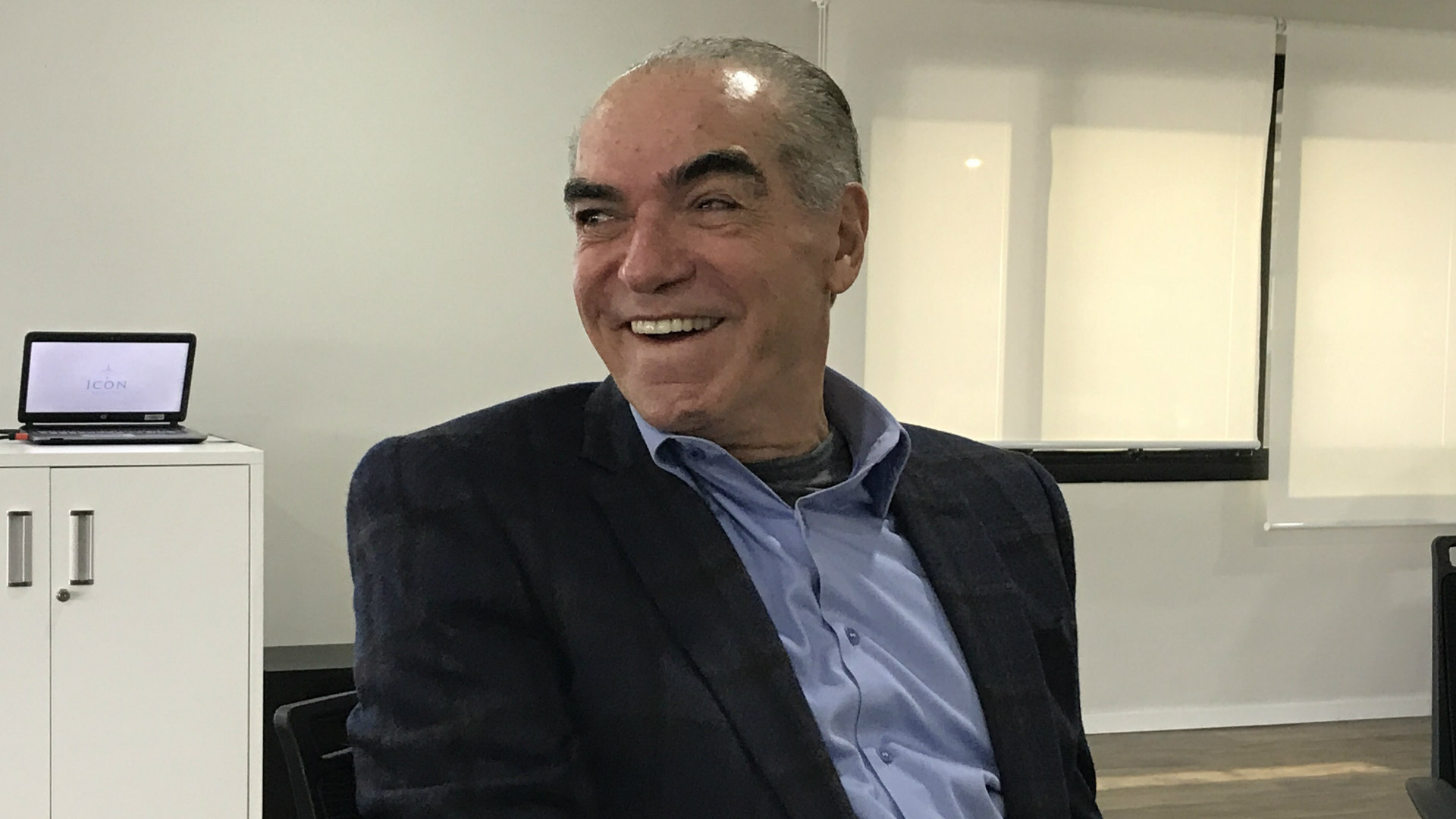 Michael Klein, presidente do conselho da Via Varejo, em café da manhã com jornalistas