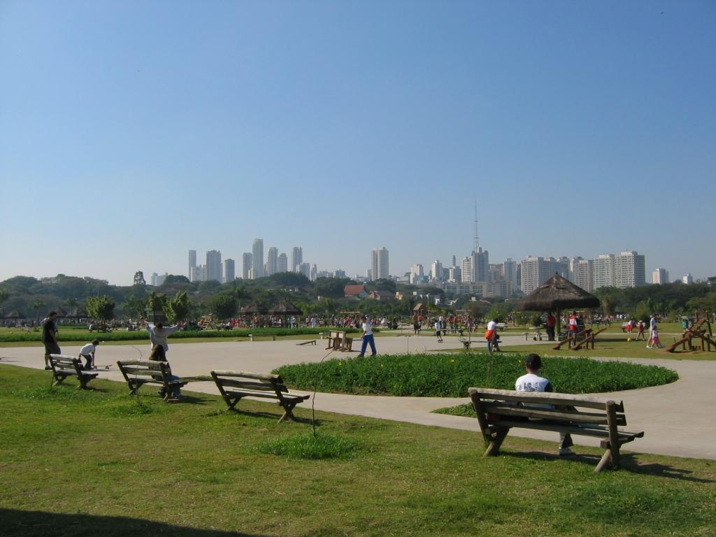 Vista do Parque Vila-Lobos, em São Paulo