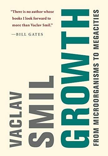 Growth, de Vaclav Smil, livro recomendado por Bill Gates
