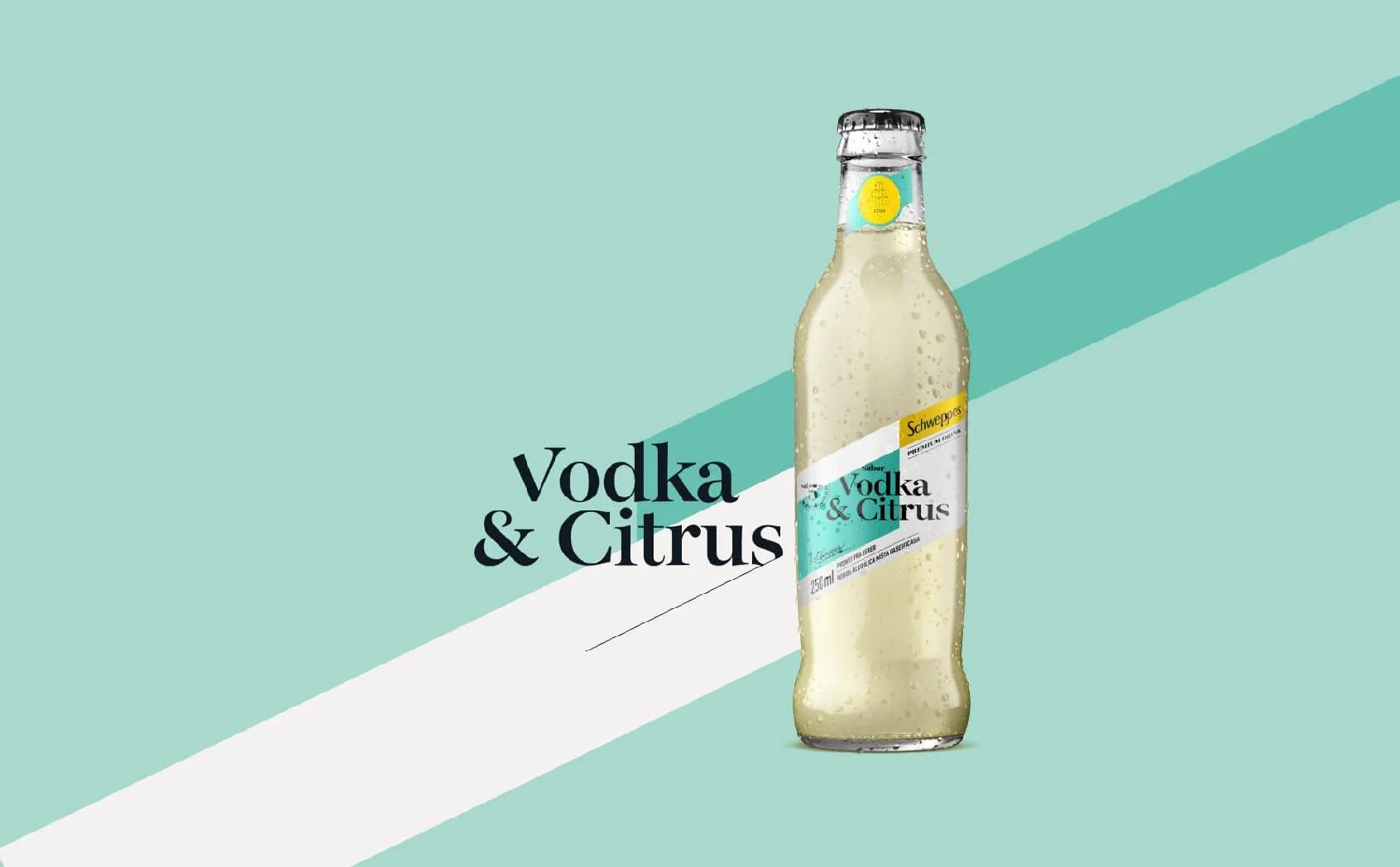 Schweppes Vodka & Citrus, da Coca-Cola