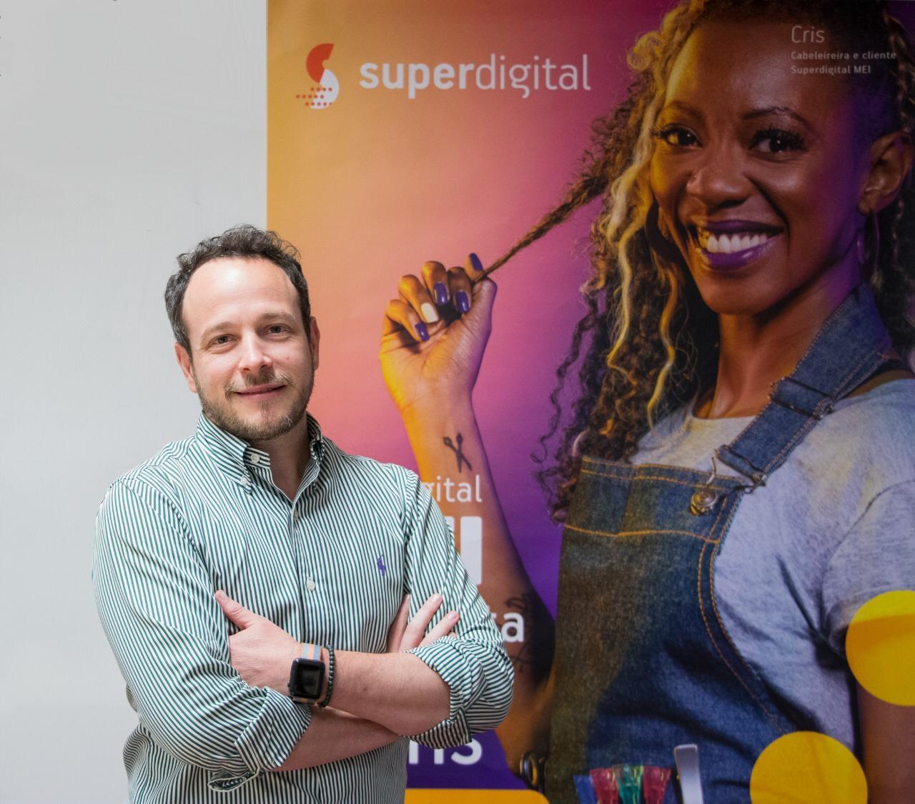 Felipe Castiglia, CEO da Superdigital, fintech do Santander.