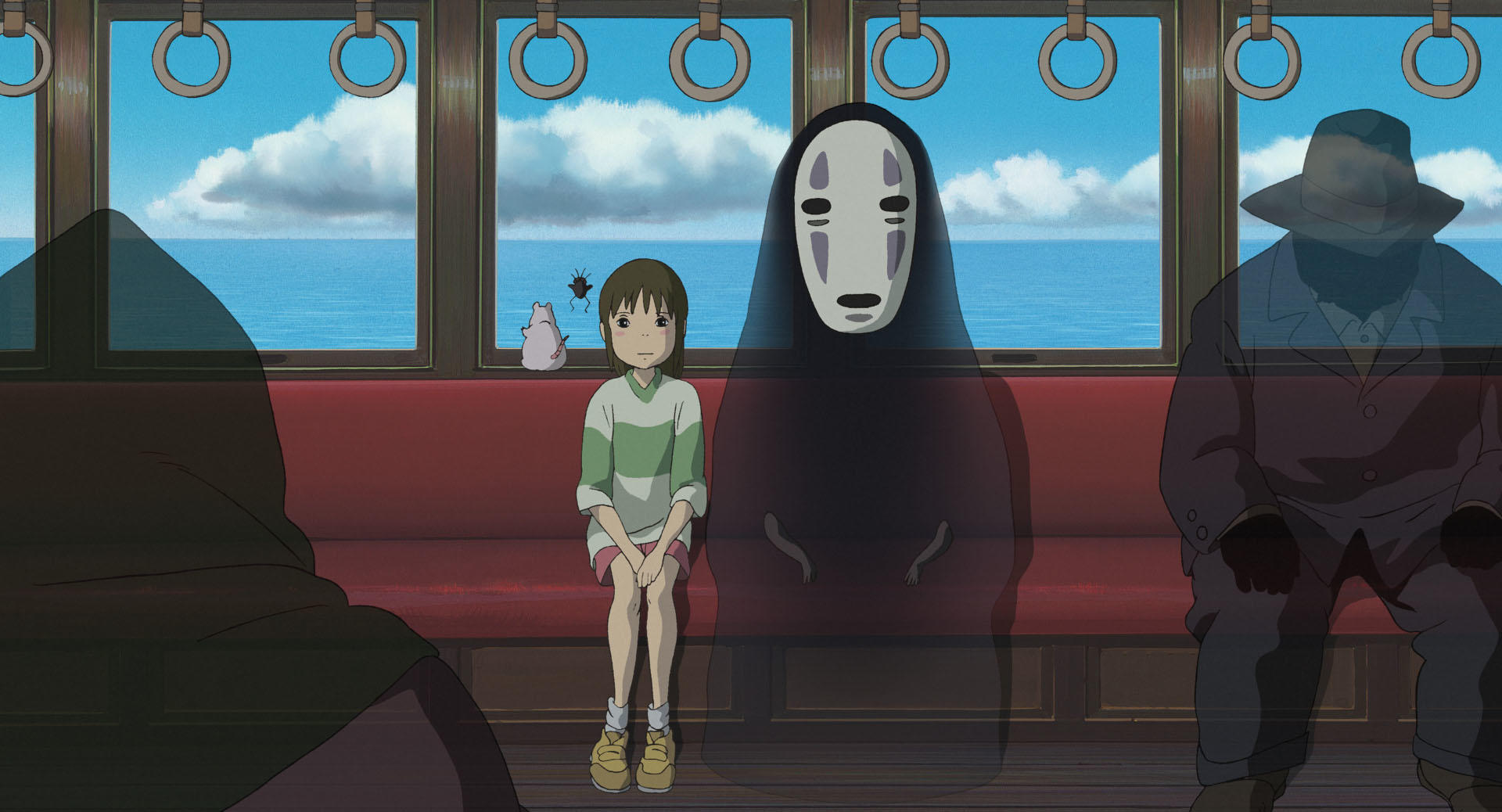 """Cena do filme """"A viagem de Chihiro"""", do Studio Ghibli."""