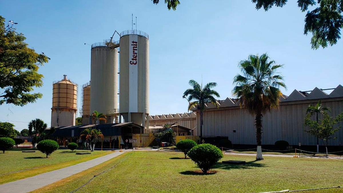 Fábrica da Eternit em Goiânia (GO)
