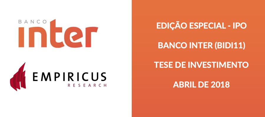 Relatório da Central de IPOs sobre Banco Inter