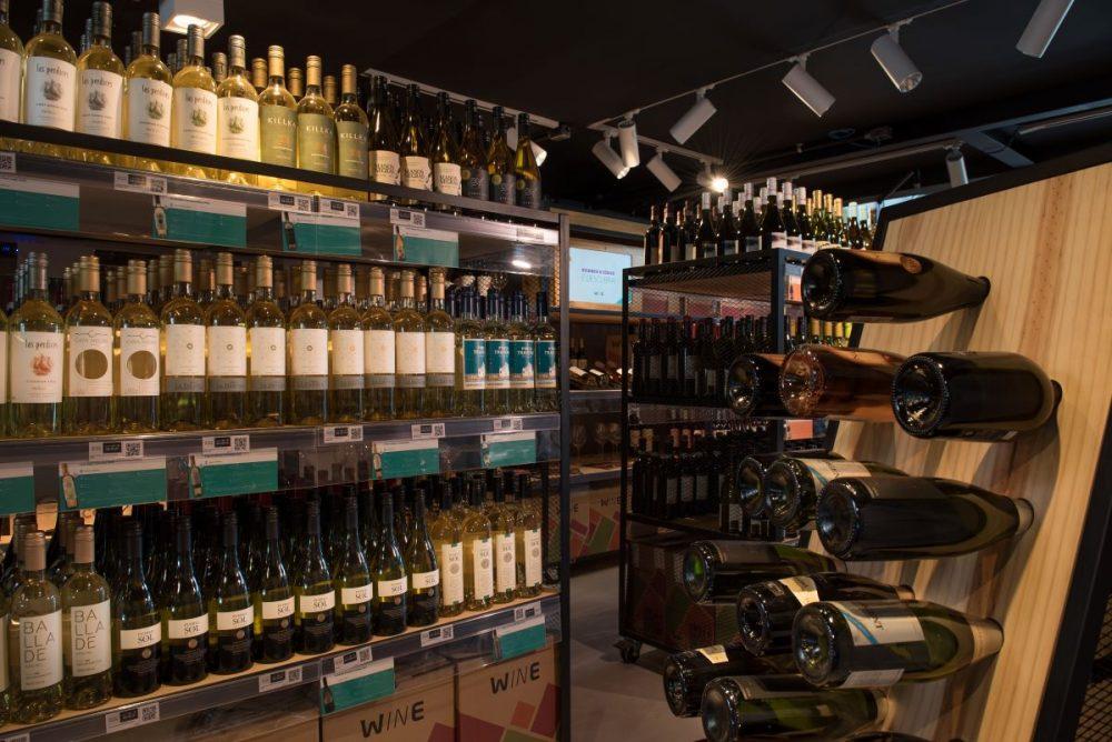 Loja da Wine na Barra da Tijuca, no Rio