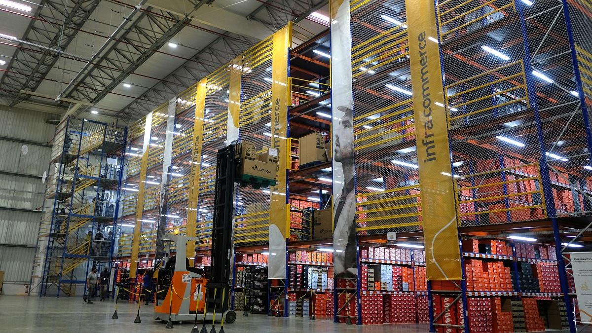 Centro de Distribuição da Infracommerce (IFCM3) em Extrema (MG)